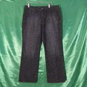 Chico's Platinum. Blue jeans. Size 3 reg.